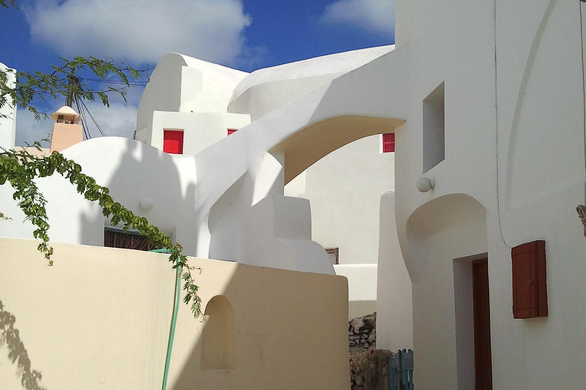 Kykladen Santorini